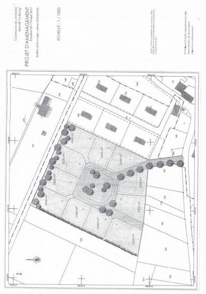 Terrain de 1000 m² à 1600 m² sur la commune de Lavazan