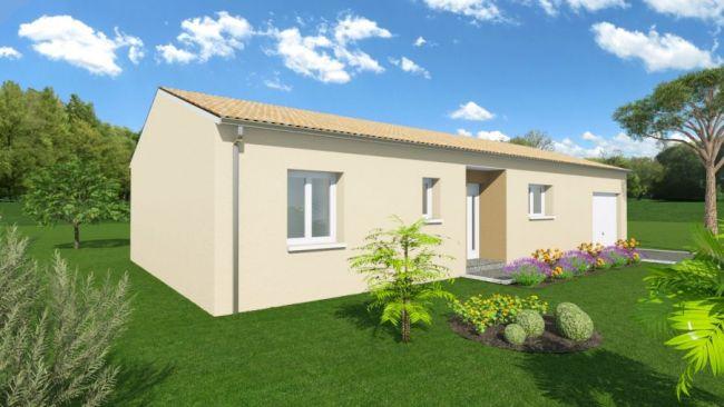 Maison + Terrain sur Toulenne 33210