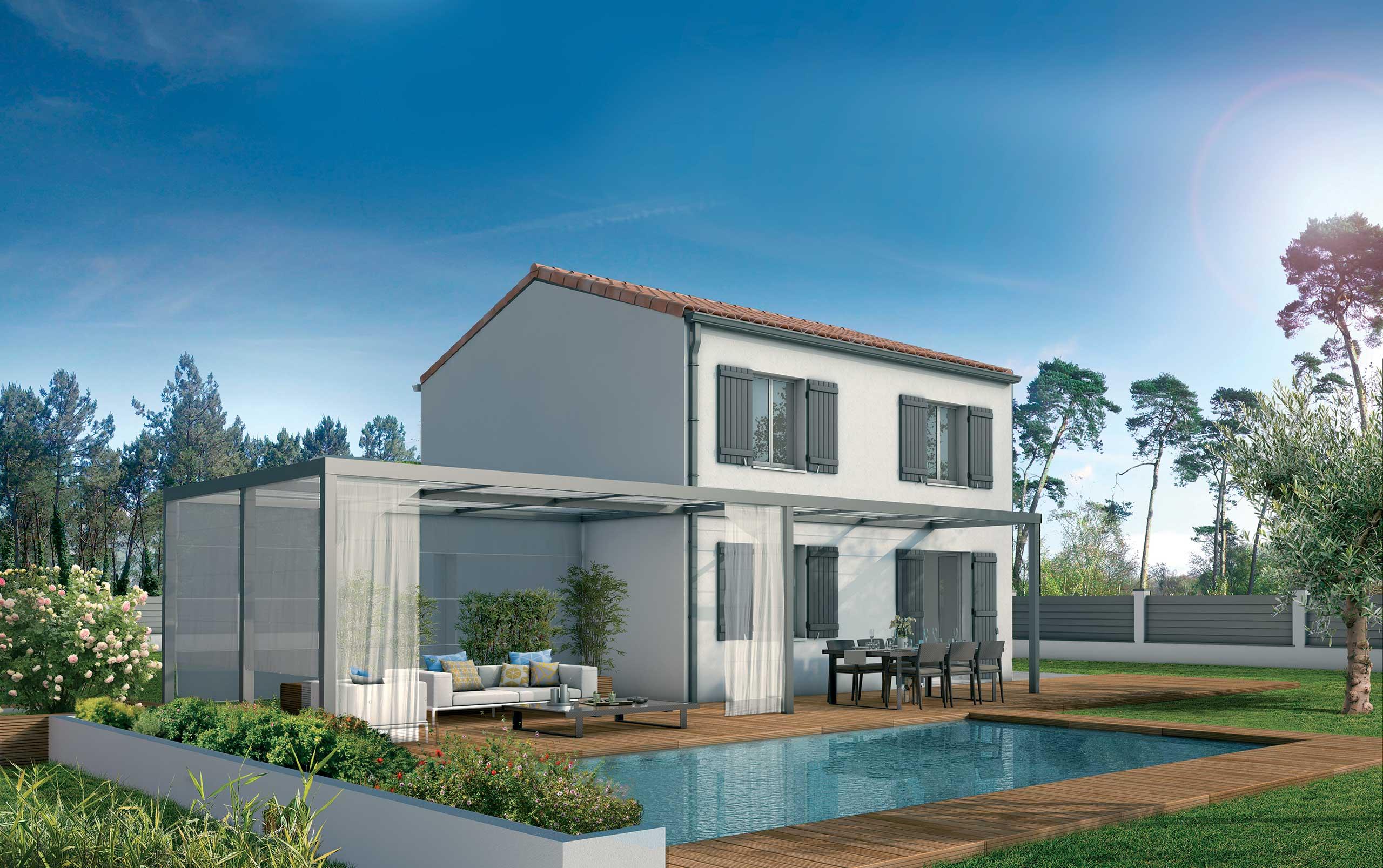 maison modèle de maison acacia : une villa fonctionnelle et confortable