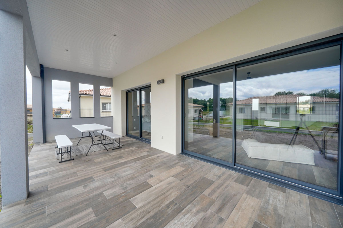 Construction d'une maison contemporaine à St Médard en Jalles en Gironde