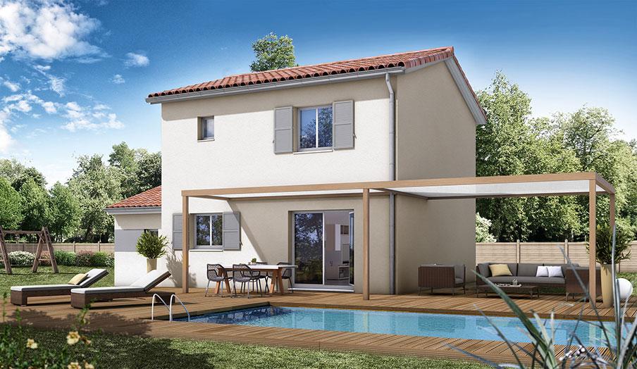 maison modèle traditionnel modèle oranger