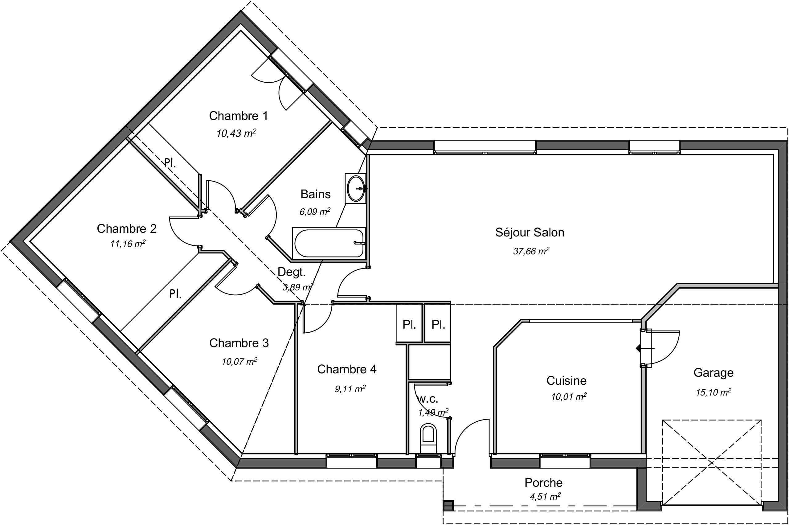 Construire sa maison Budos (33) Gironde - Constructeur Artigues-près-Bordeaux (33)