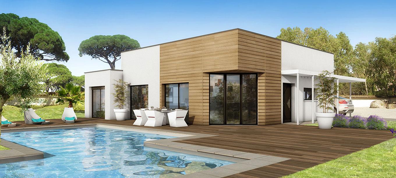 Maison moderne bordeaux for Modele de maison a construire moderne