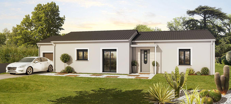 Maison moderne bordeaux for Constructeur aquitaine