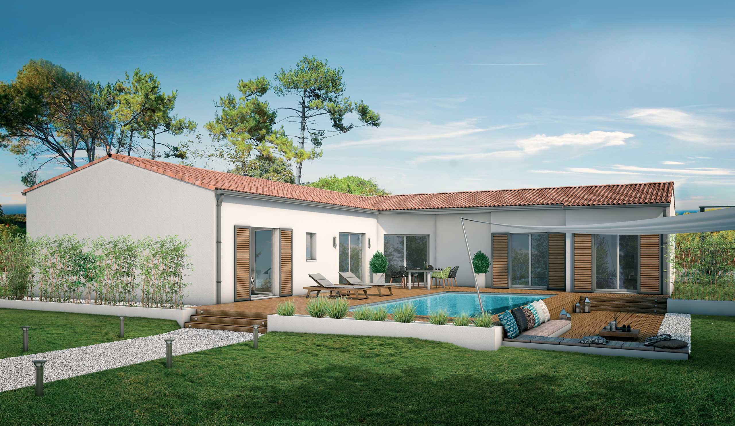 maison modèle de maison tamaris : une villa tournée vers l'extérieur