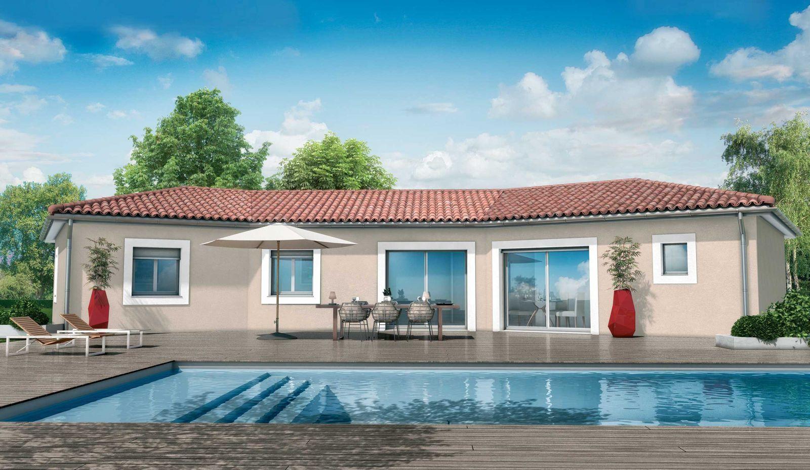 Modèle de maison Cèdre : une maison au design méditerranéen