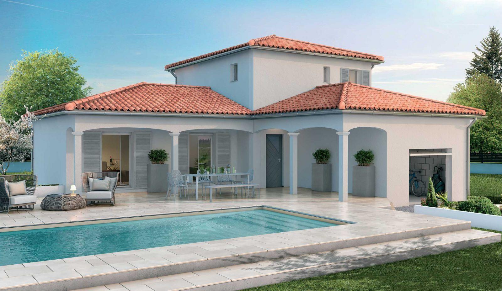 Maison d'une surface global de 137 m² sur un terrain 730 m² à Léognan 33850