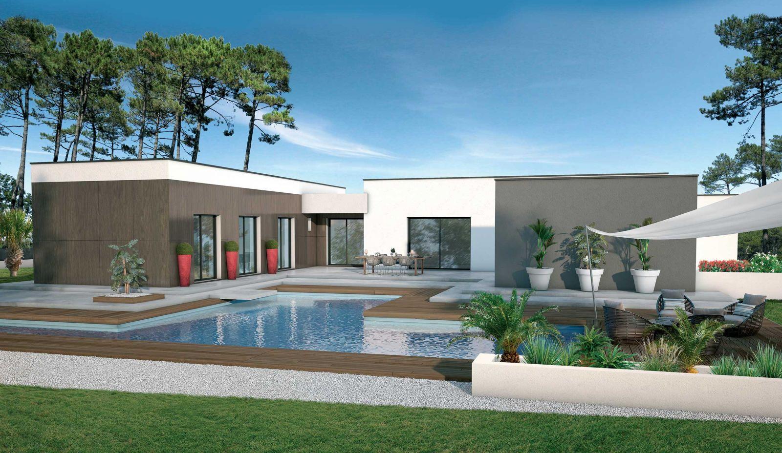 Maison contemporaine dans un cadre prisé D'Andernos les Bains