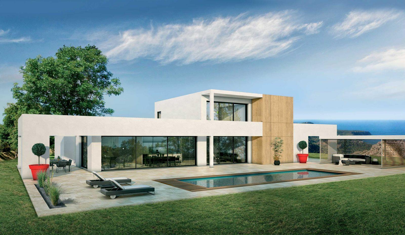 Modèle de maison Séquoia : une architecture ultra-moderne