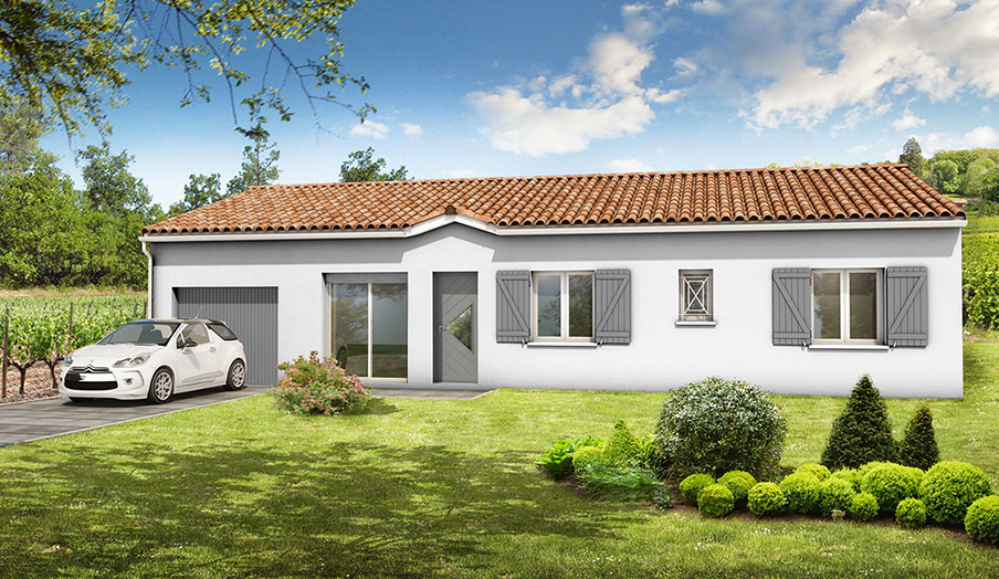 Terrains avec maison landes 40 demeures d 39 aquitaine for Constructeur maison landes 40